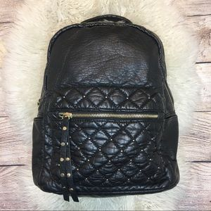 LD Faux Leather Small Backpack